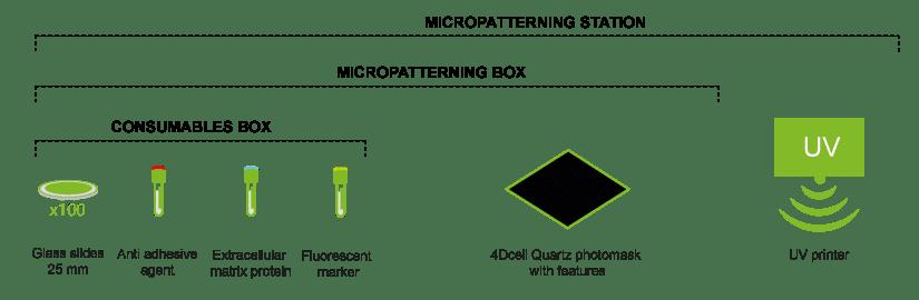 Micropatterning fabrication kit